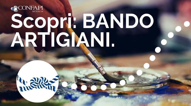 Regione Sicilia, 13 milioni di finanziamenti alle imprese artigiane