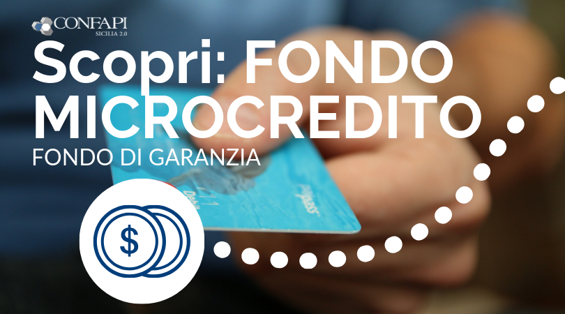 Bando per il Microcredito – in scadenza a Settembre 2019