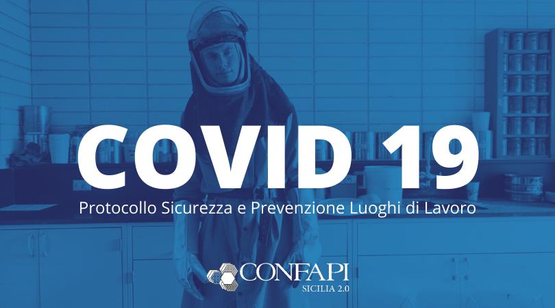 Prevenzione e sicurezza Luoghi di Lavoro COVID-19: scarica il fac-simile per la tua azienda