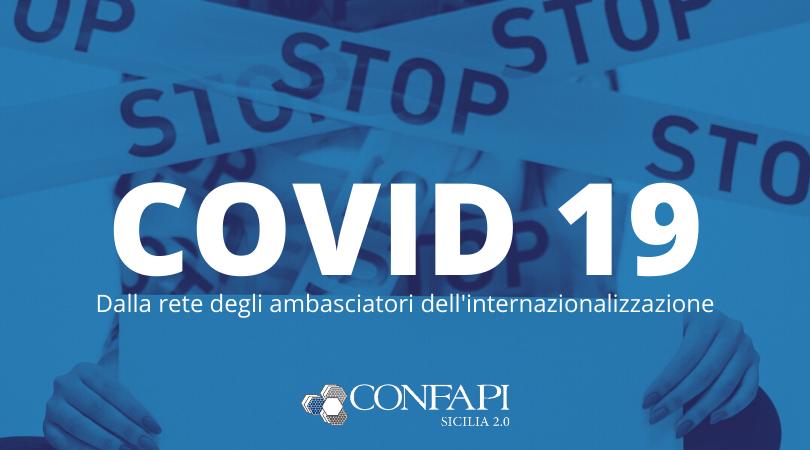 COVID-19: le testimonianze dei nostri ambasciatori dell'internazionalizzazione