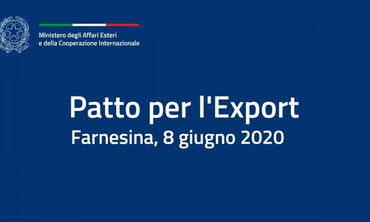 Confapi firma il Patto per l'Export