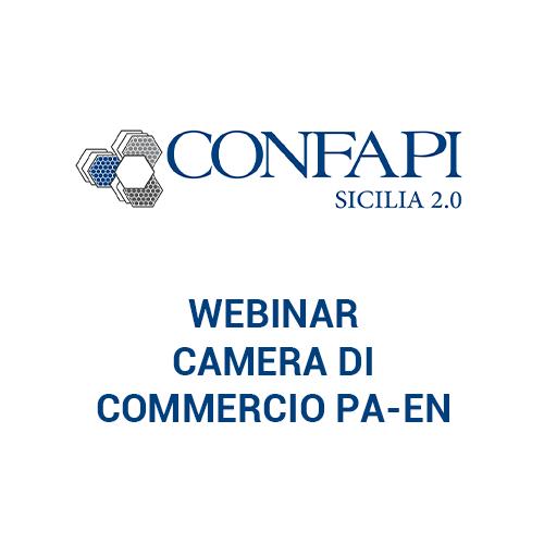 Webinar Camera di Commercio Palermo Enna