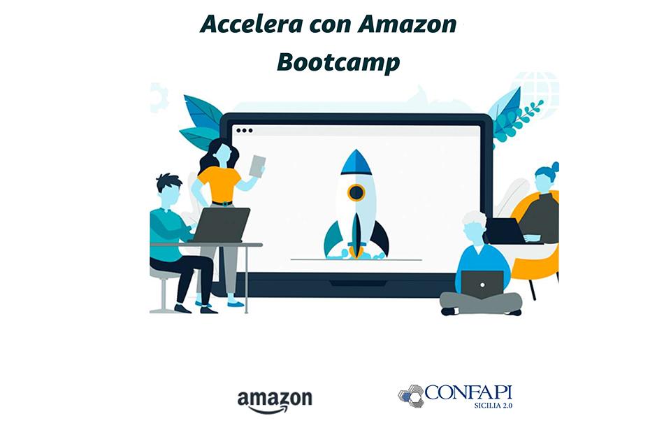 """Accordo tra Confapi e Amazon nasce l'iniziativa """"Bootcamp Accelera"""""""